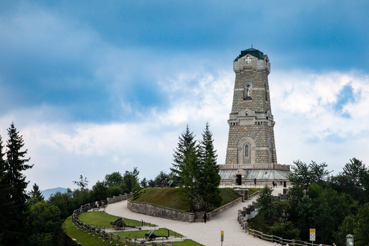Ossario del Pasubio - Monumento ai Caduti della Prima Guerra Mondiale
