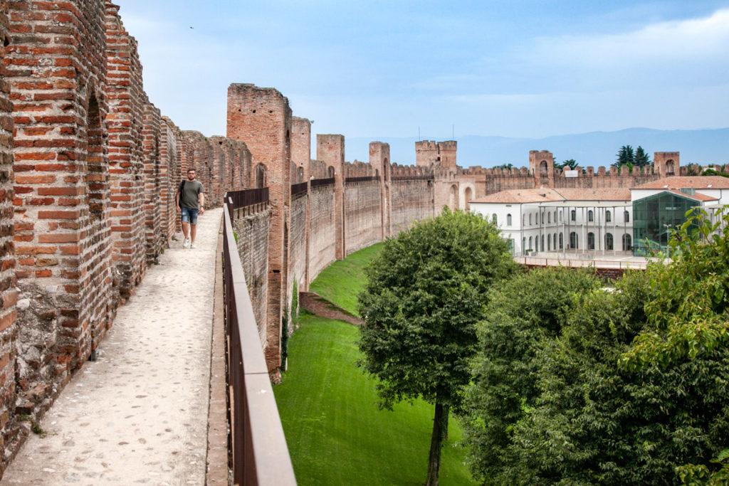 Passeggiata sulle mura di Ronda di Cittadella