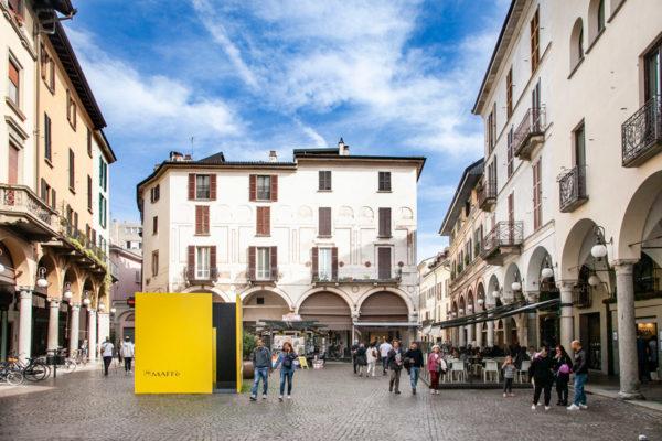 Piazza delle Erbe di Novara