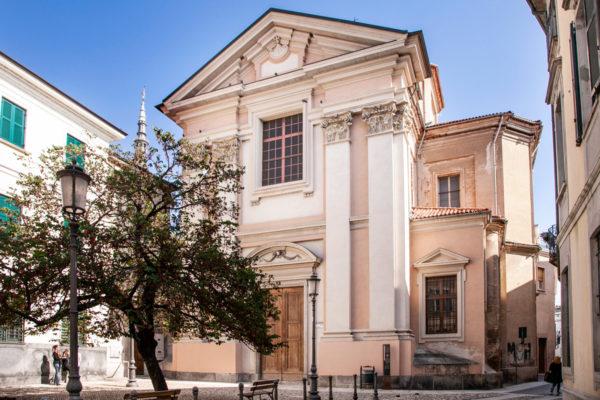 Piazzetta e chiesa di Nostra Signora del Carmine