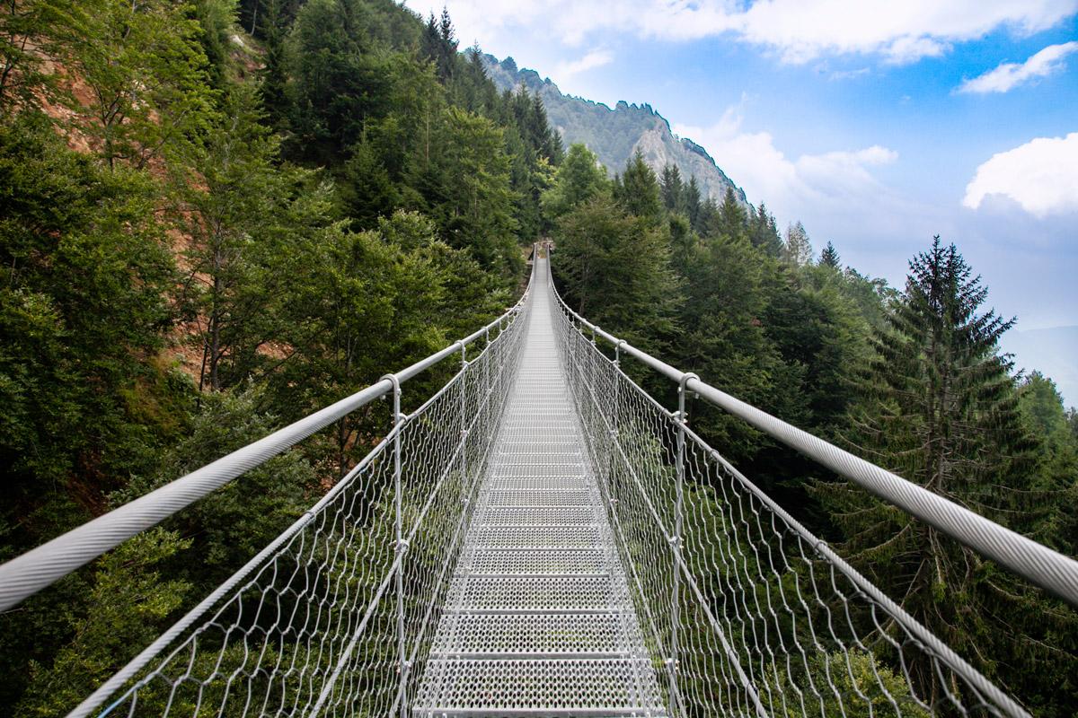 Ponte AVIS - Il ponte tibetano nelle Prealpi Vicentine