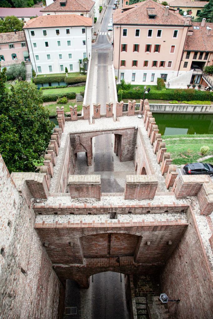 Porta Bassano vista dalle mura