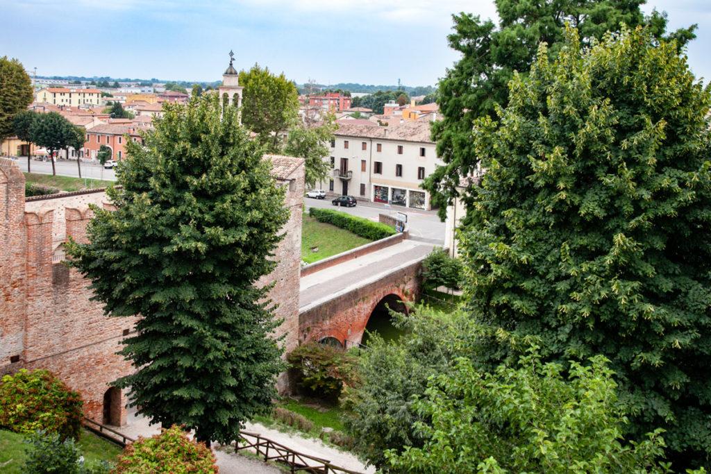 Porta Padova e rispettivo ponte di Cittadella