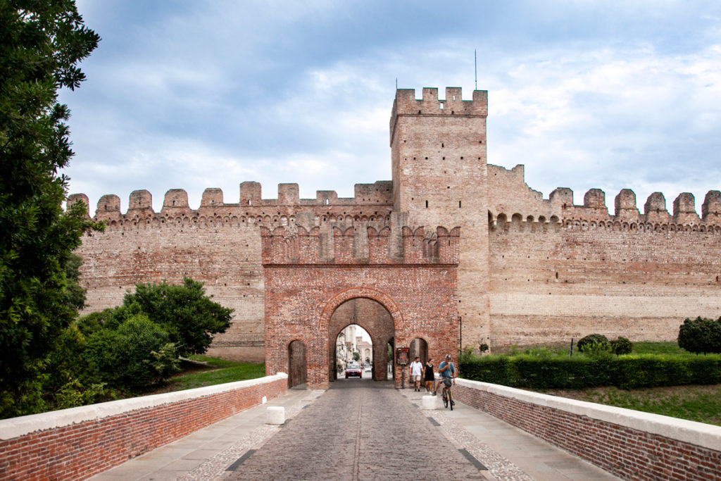 Porta Vicenza di Cittadella - Vista Esterna