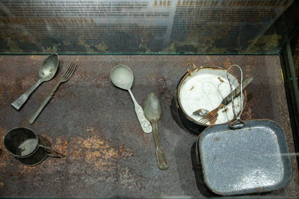 Posate della prima guerra mondiale - Museo sulla Grande Guerra di Lavarone