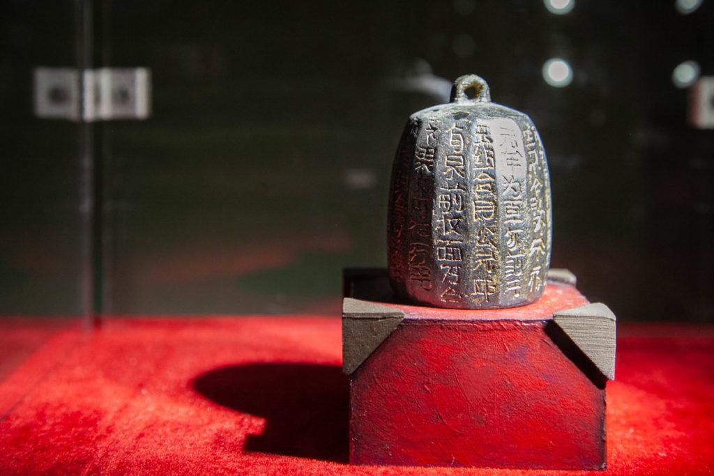 Ritrovamenti all interno degli scavi della necropoli del vecchio impero cinese