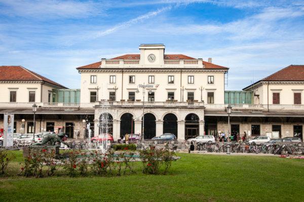 Stazione dei treni di Novara