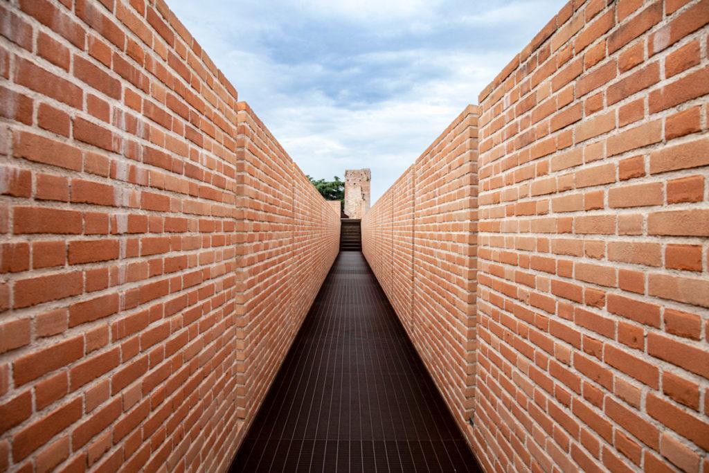 Tratto nuovo delle Mura Cittadine