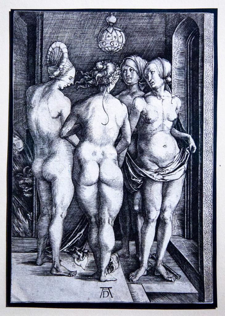 Albrecht Dürer protagonista del Rinascimento Nordico - Nudi - Le quattro donne nude (1497)