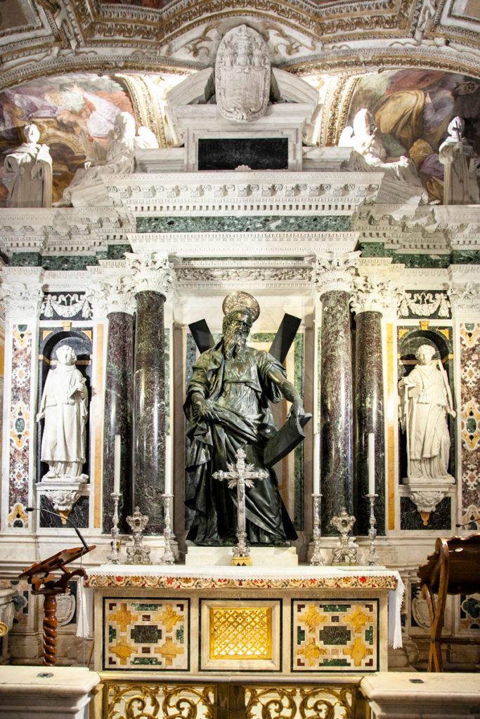Altare della Cripta di Sant'Andrea