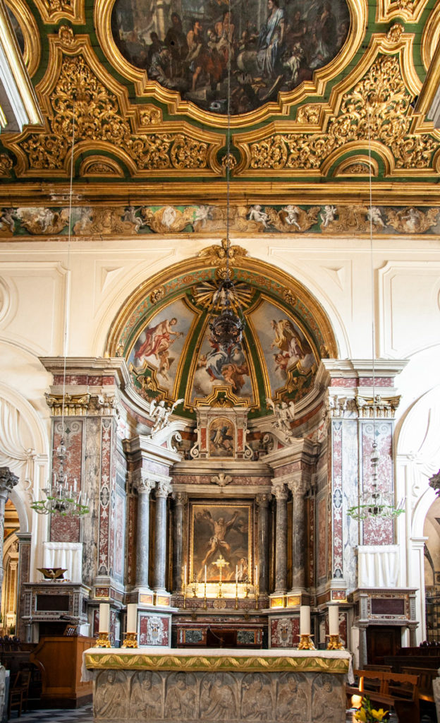 Altare nella Cattedrale di Sant'Andrea