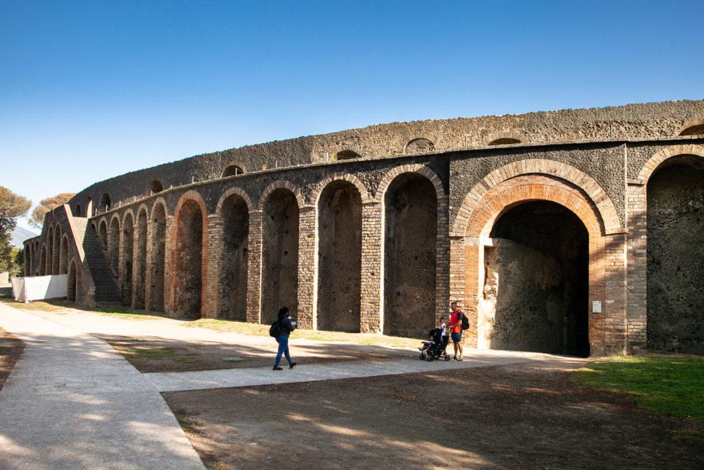 Anfiteatro di Pompei - 70 avanti Cristo