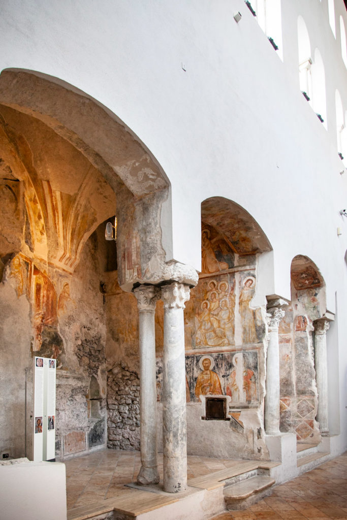 Antica navata della Basilica del Crocifisso del Duomo di Amalfi