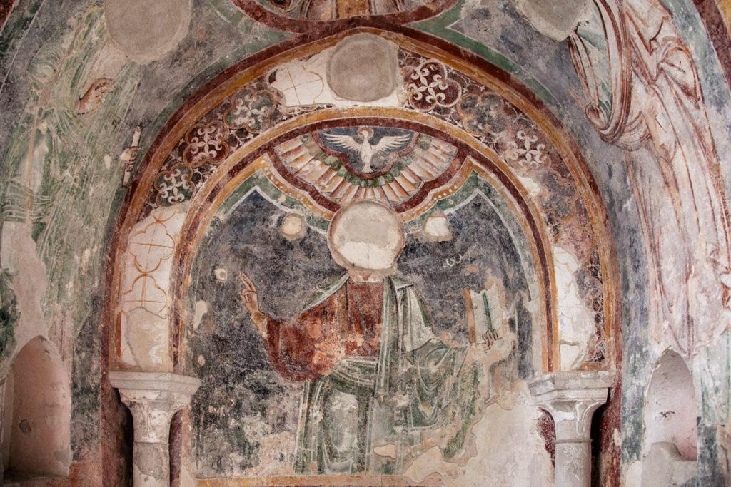 Antichi affreschi del XIII secolo - Chiostro del Paradiso