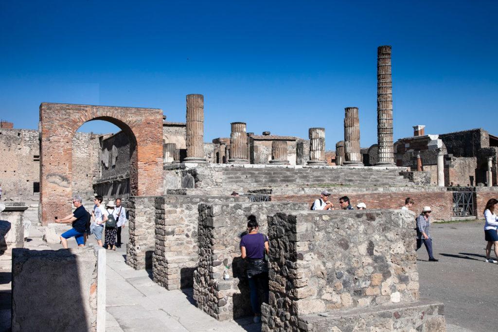 Archi Onorari e Tempio di Giove a Pompei