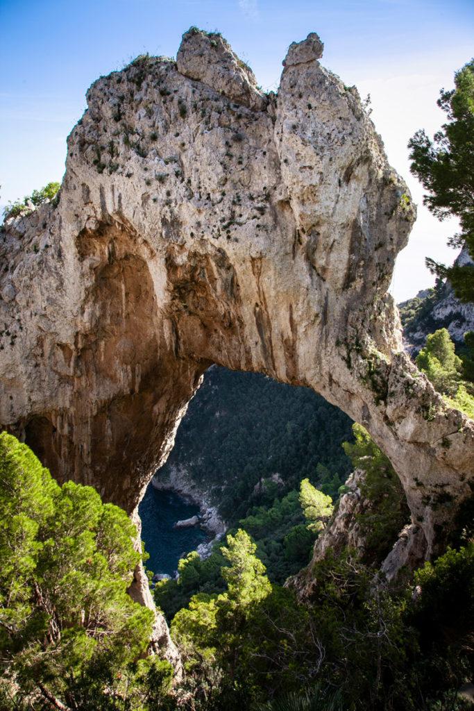 Arco Naturale di Capri - Scavato dalla natura