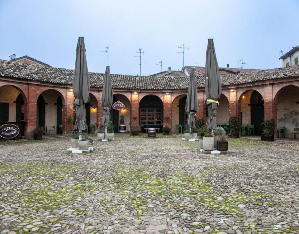 Bagnacavallo - Piazza Nuova o Piazza Ovale