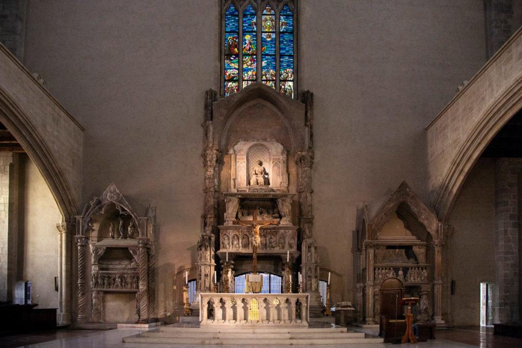 Basilica di Santa Chiara - Interni - Cosa vedere a Napoli