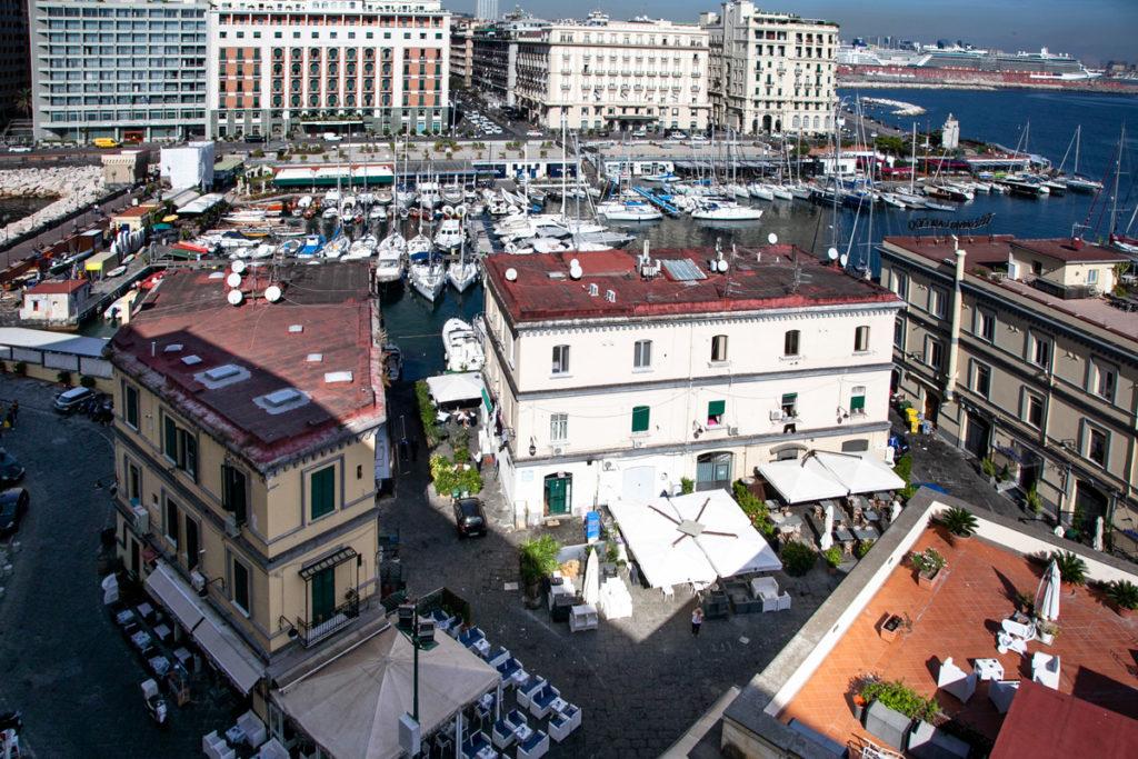 Borgo Marinari di Napoli visto da sopra