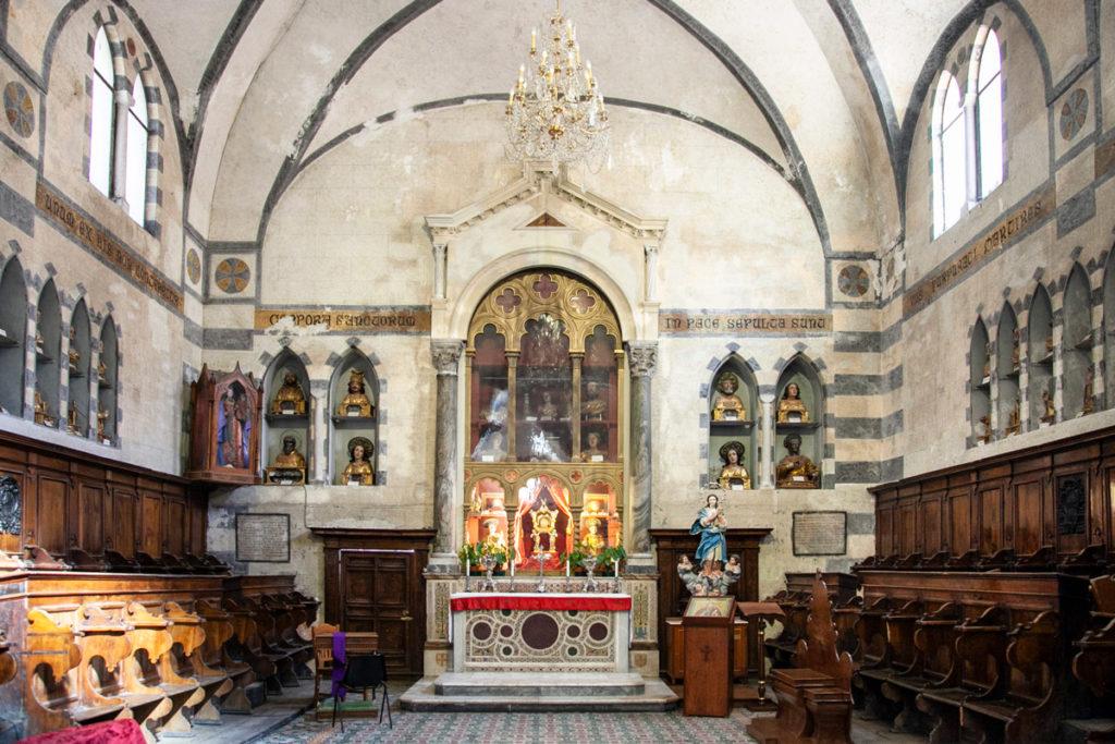 Cappella con scranni in legno della Cattedrale di Sant'Andrea