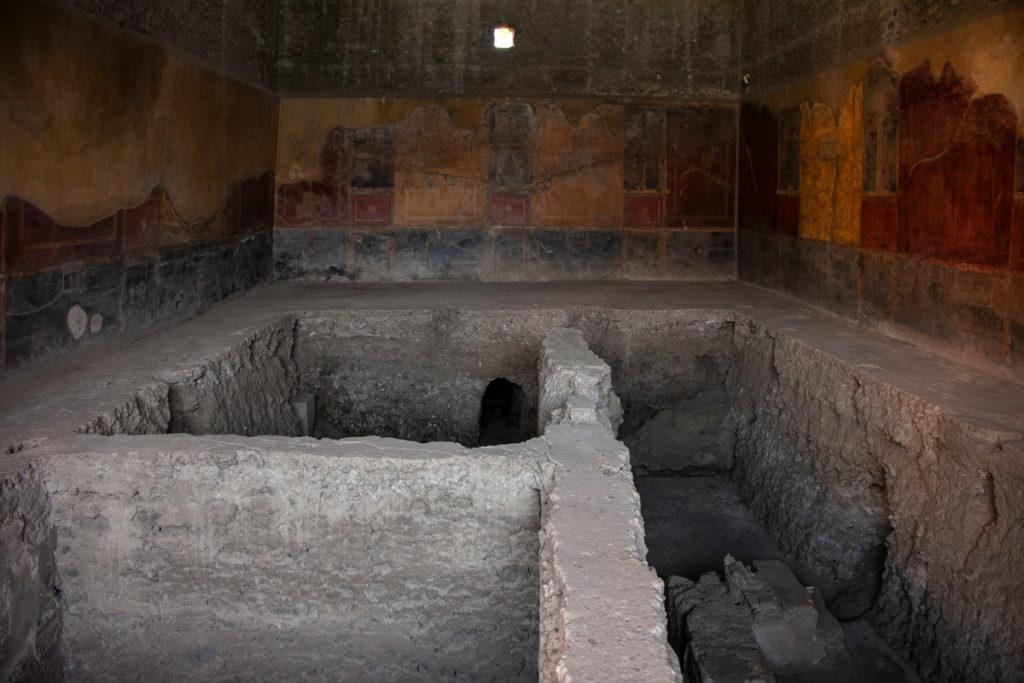 Casa del Menandro a Pompei - Area termale