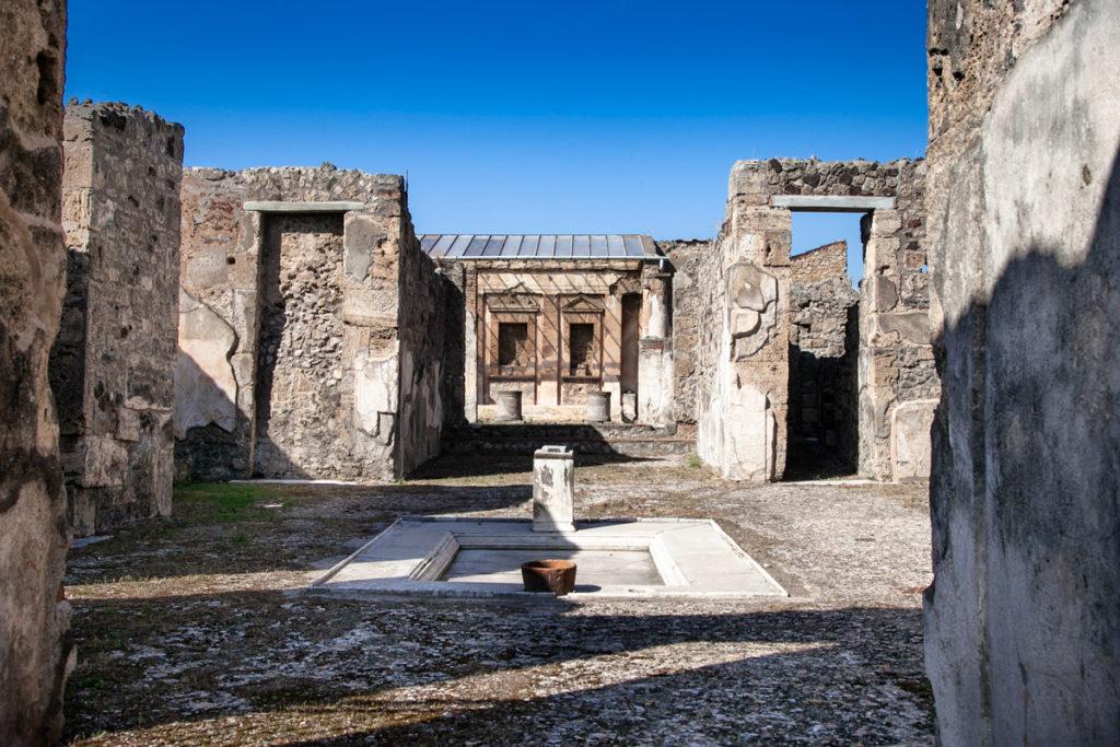 Casa della Caccia Antica - Atrio e Tablinum