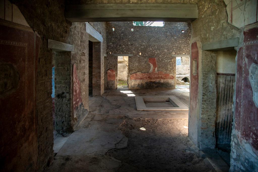 Casa delle Venere in Conchiglia - Interni