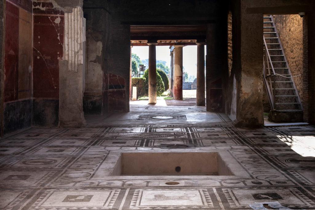 Casa di Paquius Proculus - Cortile interno