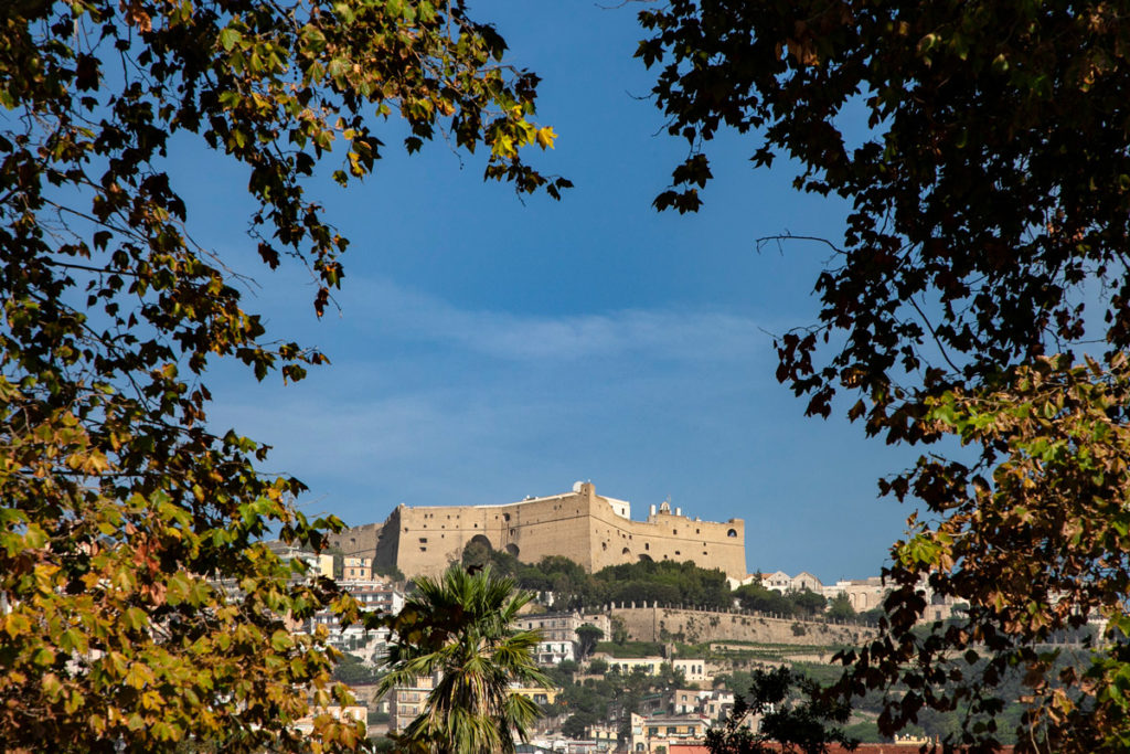 Castel Sant'Elmo visto dal lungomare
