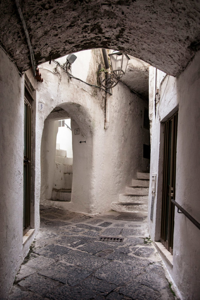 Centro storico di Amalfi - Vicoli rivestiti in calce