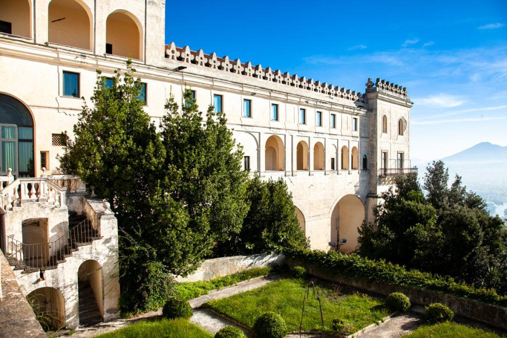 Certosa di San Martino - cortile interno