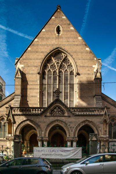 Chiesa Anglicana nel quartiere Chiaia di Napoli