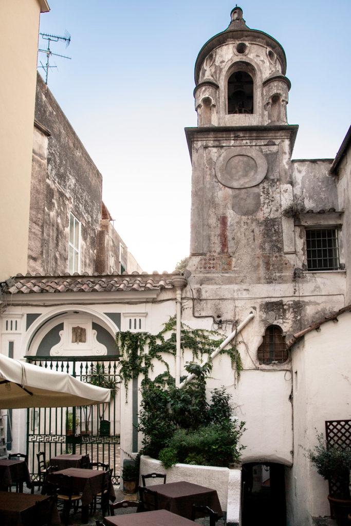 Chiesa e Campanile della chiesa della Santa Maria dell'Addolorata di Amalfi