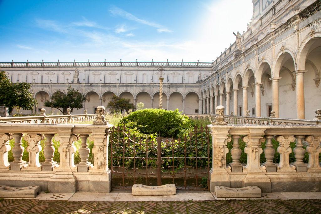 Cimitero della Certosa dove venivano sepolti i monaci