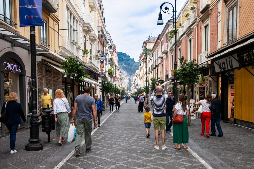 Corso Italia - via del Centro di Sorrento