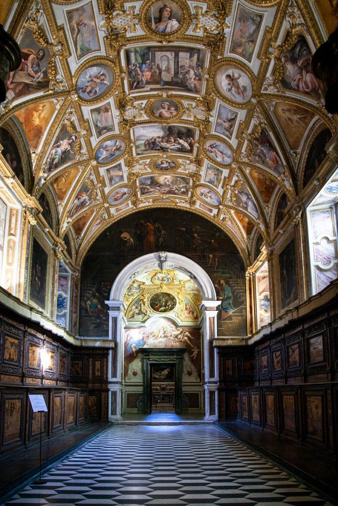 Cosa vedere nella Certosa di San Martino - Sale della Sacrestia