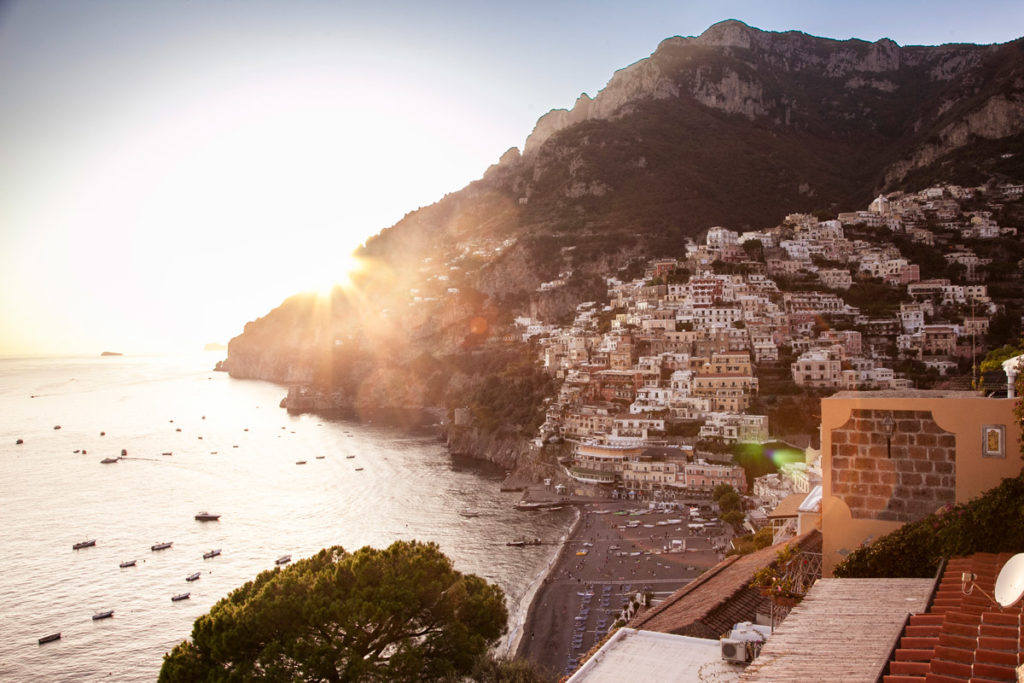 Costiera Amalfitana al Tramonto - Positano