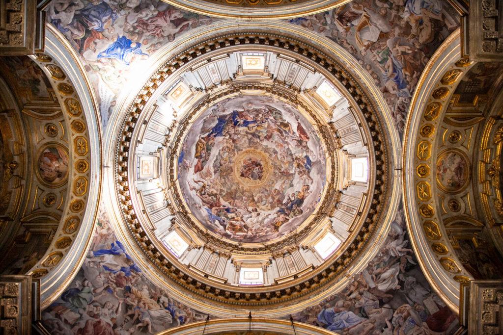 Cupola della cattedrale di Santa Maria Assunta a Napoli