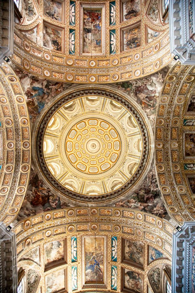 Cupola della chiesa del Gesù Nuovo