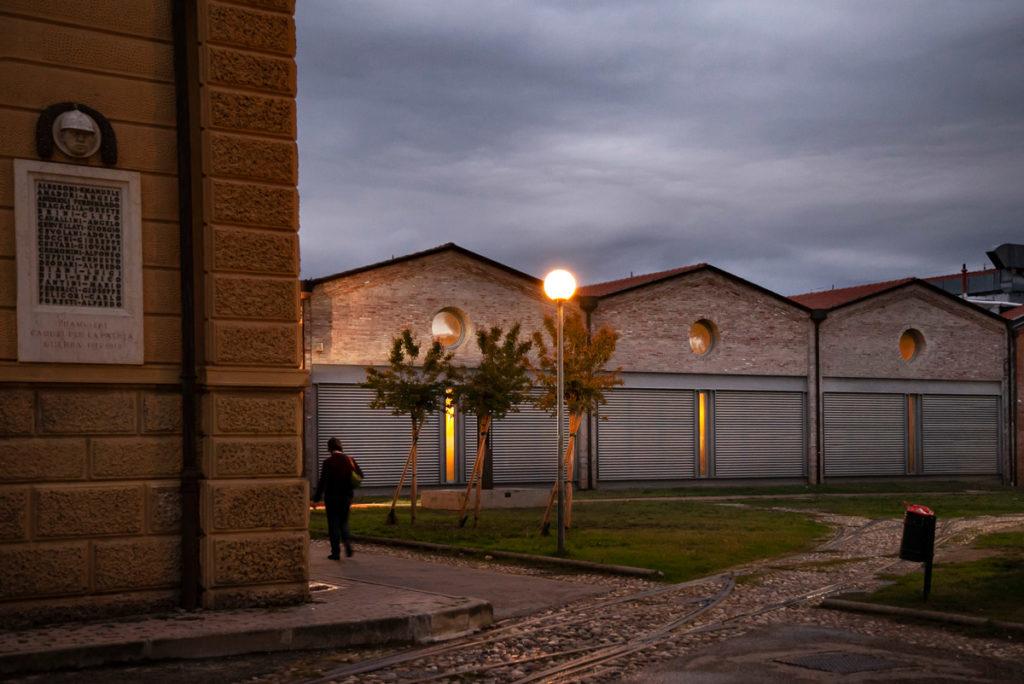 Edificio costruito per il Museo per la Memoria di Ustica a Bologna