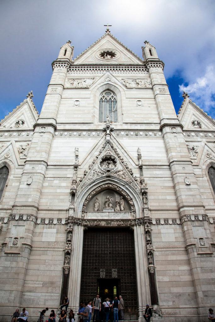 Facciata del Duomo di Napoli - Cattedrale di Santa Maria Assunta