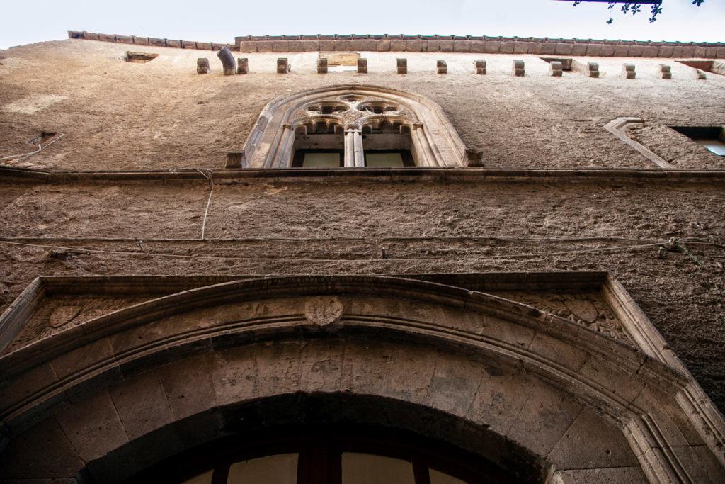 Facciata del Palazzo Correale