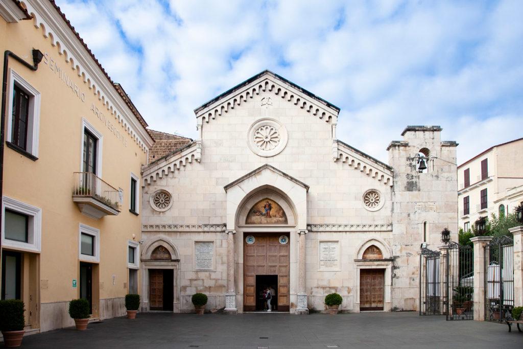 Facciata del duomo di Sorrento - Cattedrale dei Santi Filippo e Giacomo