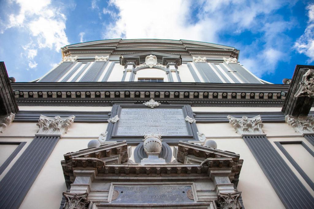 Facciata della Basilica di San Paolo Maggiore
