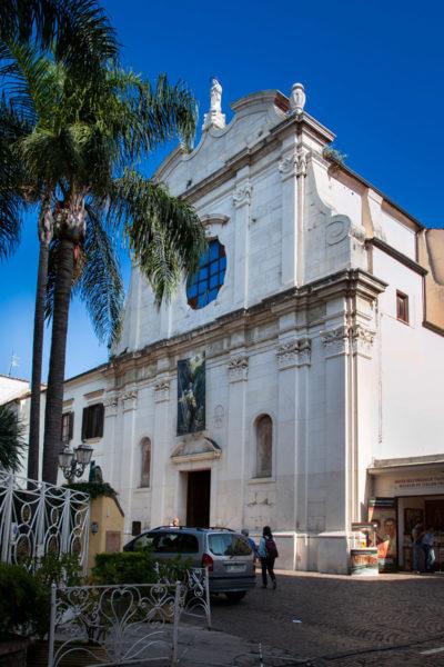 Facciata della Chiesa di San Francesco a Sorrento