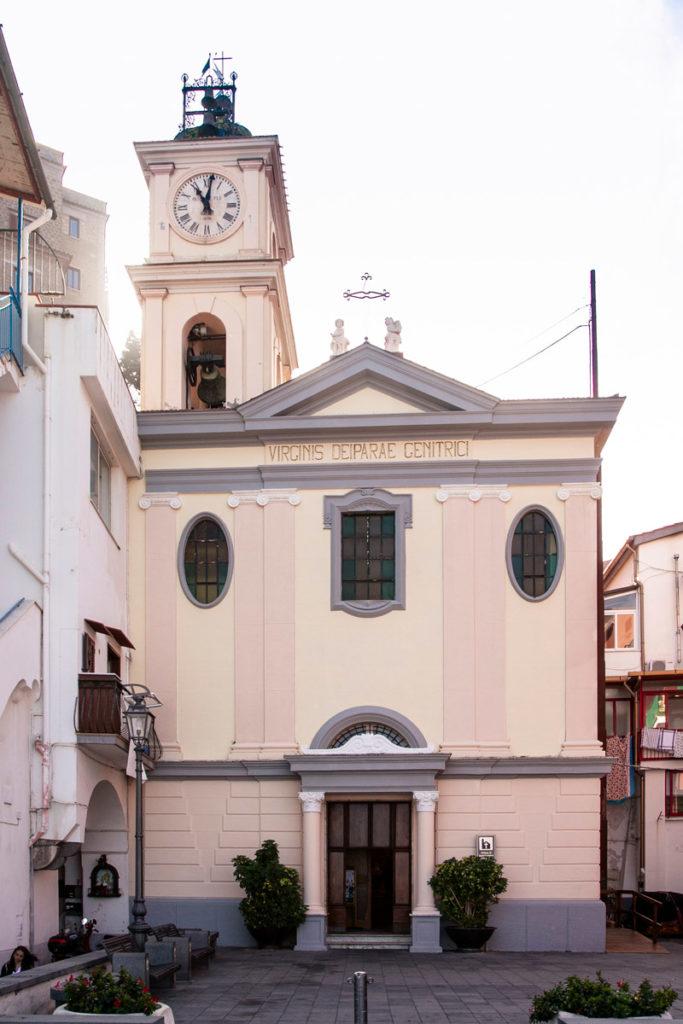 Facciata della Chiesa di Sant'Anna a Marina Grande - Sorrento
