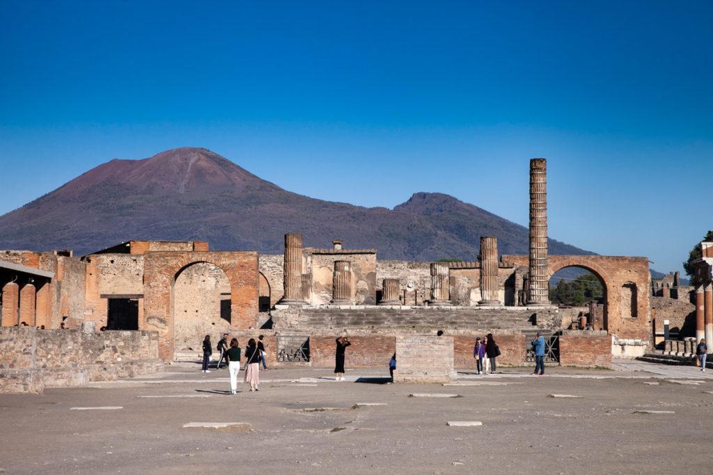 Foro e il Tempio di Giove a Pompei
