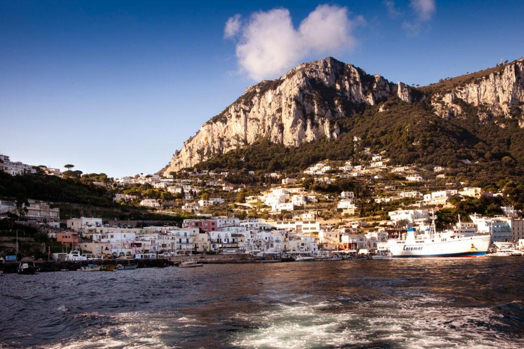 Giro in barca di Capri - Partenza da Marina Grande