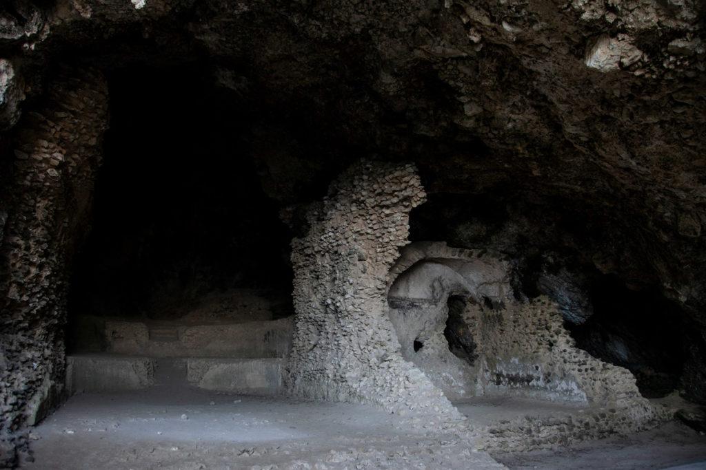 Grotta della Matermania - luoghi misteriosi di Capri