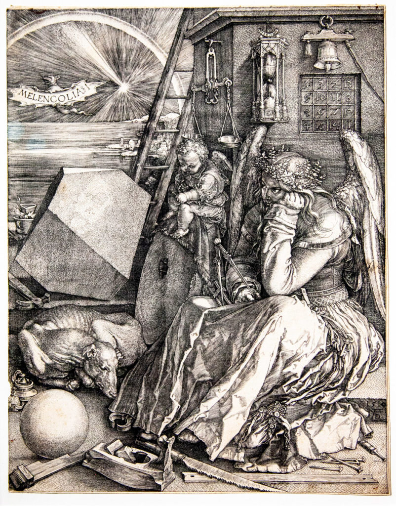 I Meisterstiche di Albrecht Dürer - Ricchi dettagli e grande complessità - Melancolia I del 1514